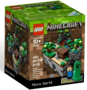 Lego Minecraft at the Top of Christmas Lists