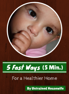 5 Fast Ways for a Healthier Home