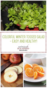 Colorful Winter Tossed Salad – Easy and Healthy!