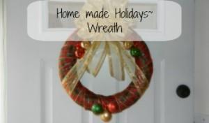 Homemade Holiday Wreath