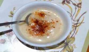 Gluten-free Cauliflower and Almond Soup