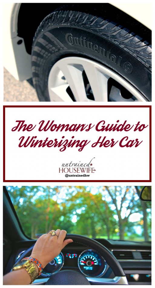 Woman's Guide to Winter Car Tips @UntrainedHW
