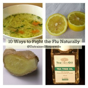 10 Ways to Fight the Flu Naturally