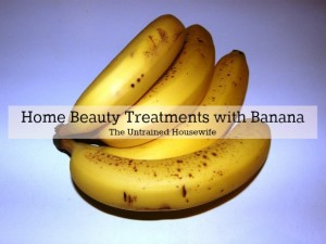 Bananas for Natural Beauty Treatments