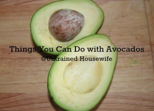 Substitute with Avocado to Make Healthier Meals