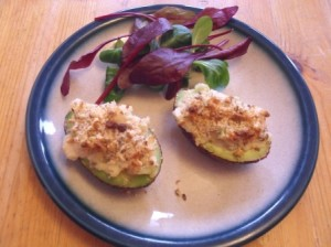 Easy Baked Avocado with Prawns Recipe