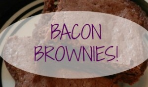 Amazing Bacon Brownies!