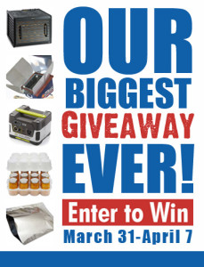 Huge Prepping and Homesteading Giveaway!
