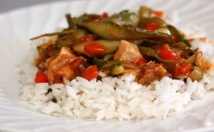 Sweet and Sour Spring Stir Fry
