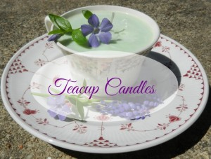Make Your Own Teacup Candles