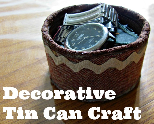 Decorative Tin Can Craft