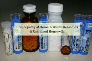 Homeopathic First Aid Kit
