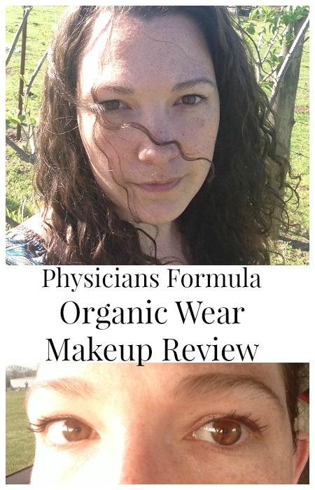 Physicians Formula organic wear makeup review