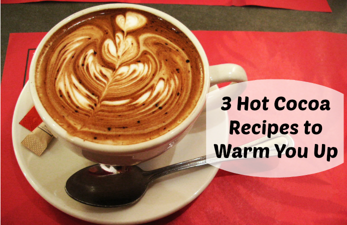 3 Hot Cocoa Recipes to Warm You Up