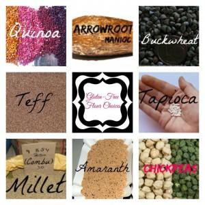 gluten-free flour choices