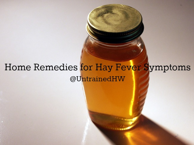 Local Honey is a Traditional Home Remedy for Hay Fever