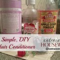 Simple Homemade Hair Conditioner