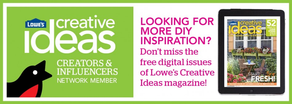 Lowe's Creative Ideas - Free Inspirations and How Tos