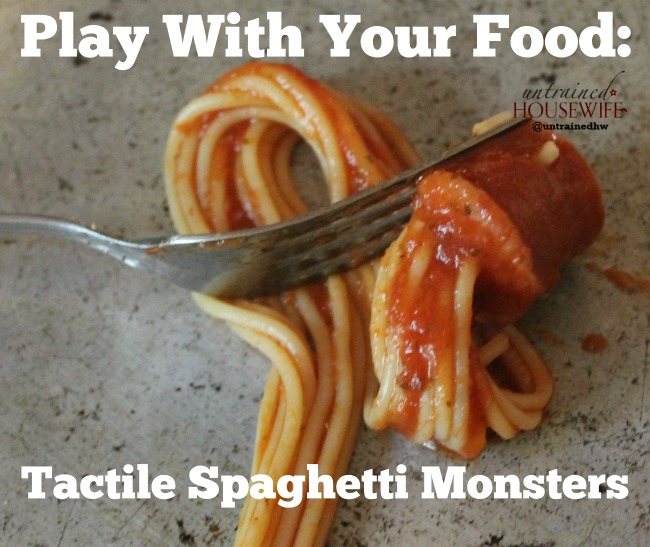 Tactile Spaghetti Monster