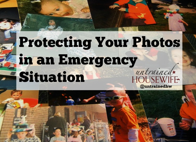 Protecting your photos in an emergency situation