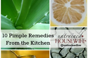 10 Simple Pimple Remedies from the Kitchen