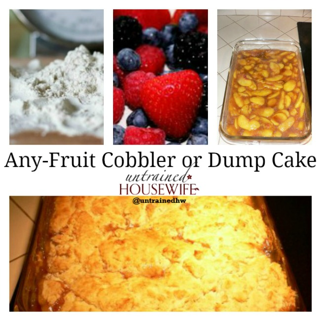 Any-Fruit Cobbler or Dump Cake