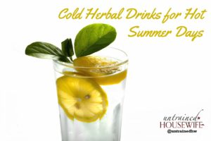 Cold Herbal Infusions: Healthy Drinks for Hot Summer Days