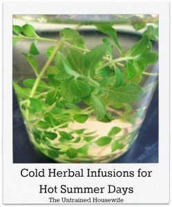 Herbal Infusions: How To Make a Cold Infusion