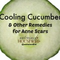 Reduce the appearance of acne and acne scars with recipes from your kitchen