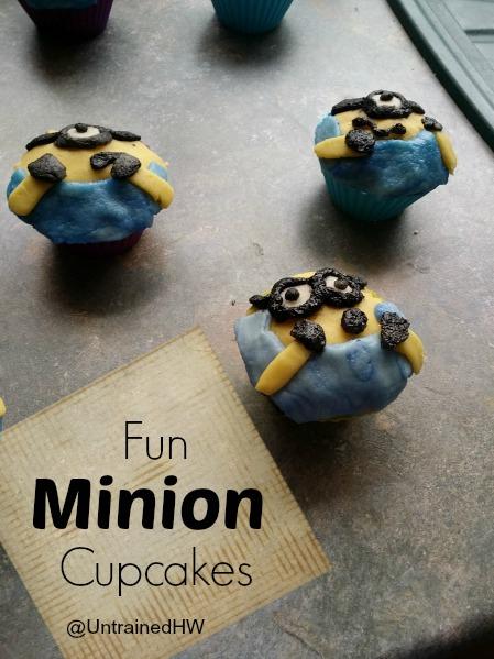Fun Minion Cupcakes