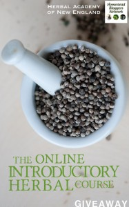 Giveaway and Discount for the Herbal Academy Online Introductory Herbal Course