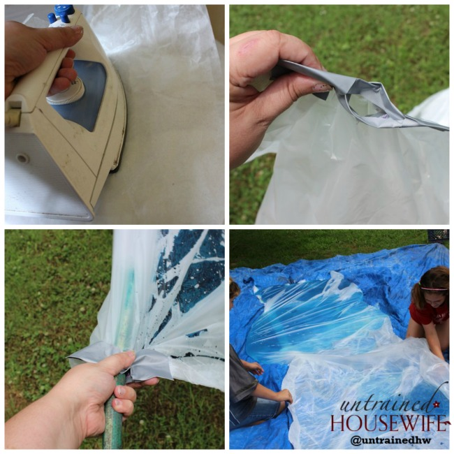 It totally works! DIY Water Pillow