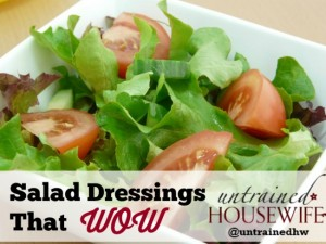 Simple Salad Dressings That Wow