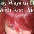 Easy Ways to Dye with Kool Aid