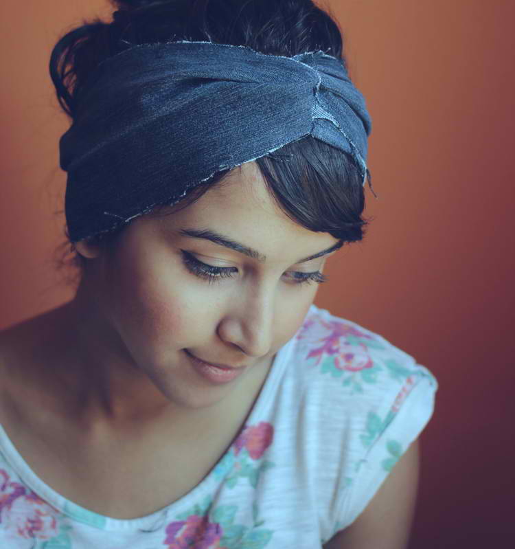 DIY DAYS Recycled Denim Headband