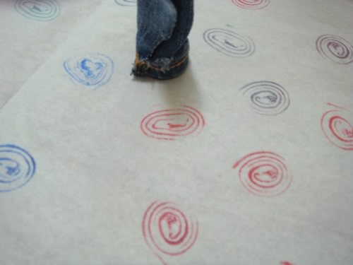 Make Stamps Using Denim Scraps