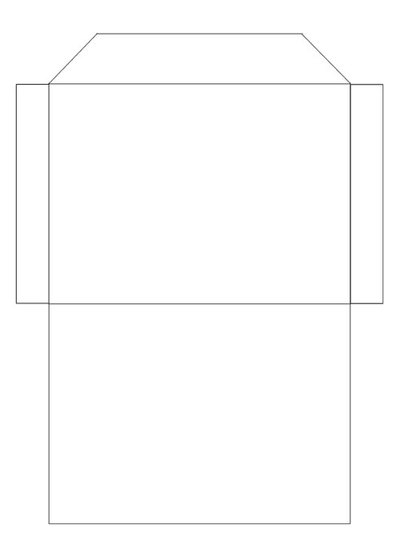 Printable Envelope Template - download preview