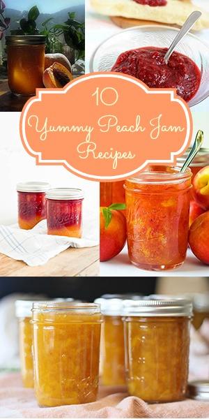 10 Yummy Peach Jam Recipes