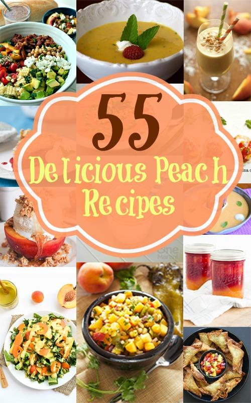 55 Delicious Peach Recipes
