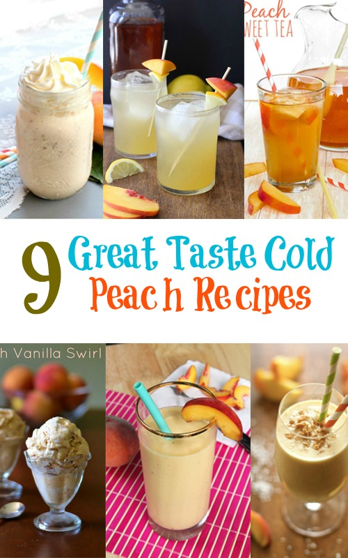 9 Great Taste Cold Peach Recipes