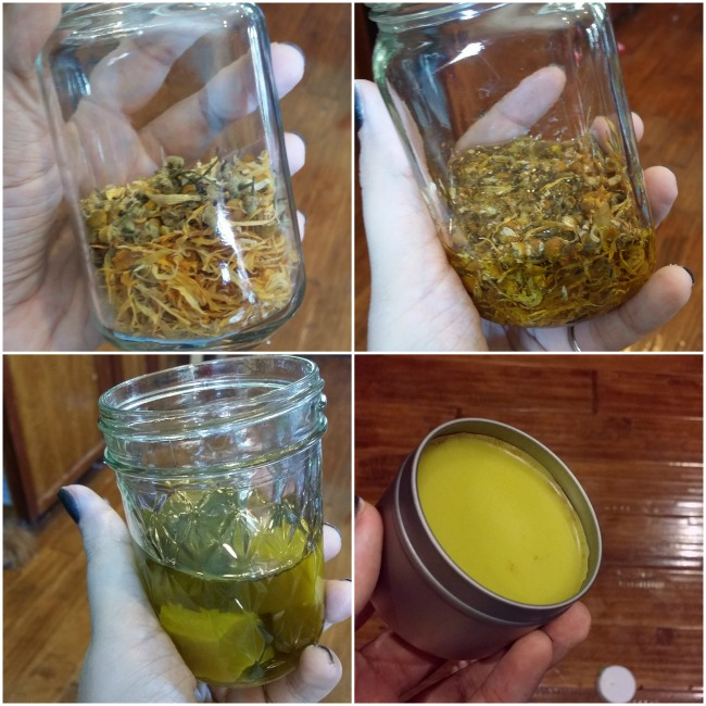 Simple steps to make your own healing balms