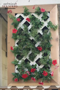 Living Wall Planter for Natural Privacy Screening