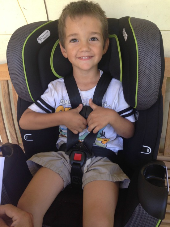 Try various car seats to make sure you have one that fits your child well.