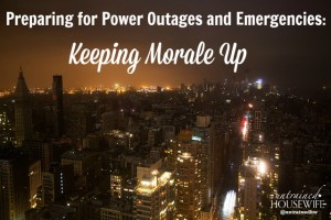 Reduce Stress and Maintain Morale During an Emergency
