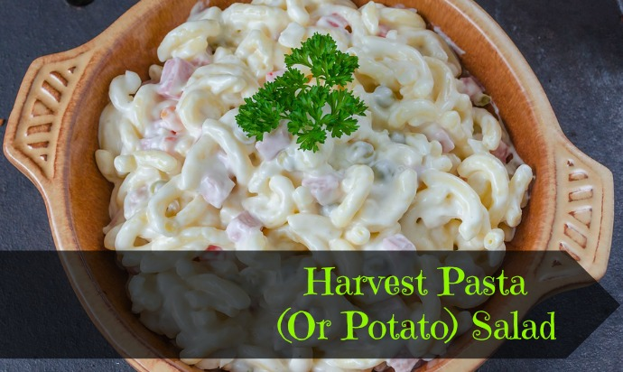 Harvest Pasta (Or Potato) Salad