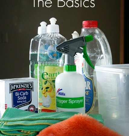 Natural Cleaning Base Products