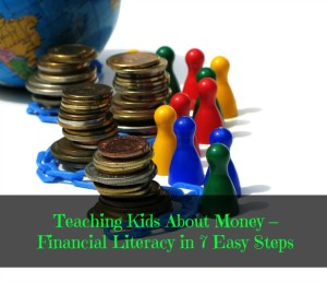 Teaching Kids About Money – Financial Literacy in 7 Easy Steps