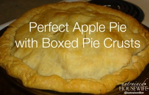 Perfect apple pie doesn't have to have a homemade crust. See which crust made this gorgeous pie.