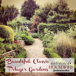 Classic potager gardens combine beauty and efficiency