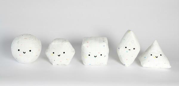 The Prismland Pals: Cubert, Hexter, Spyri, Rhonda, and Spherrison